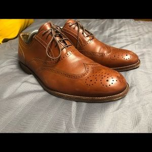 Men's Johnston Murphy shoes 11.5 walnut brown